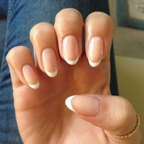 Faded French Manicure