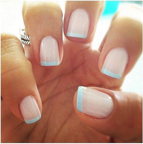 Elegant French Manicure