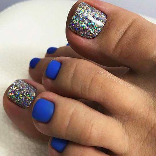 Thanksgiving Toe Nail Designs
