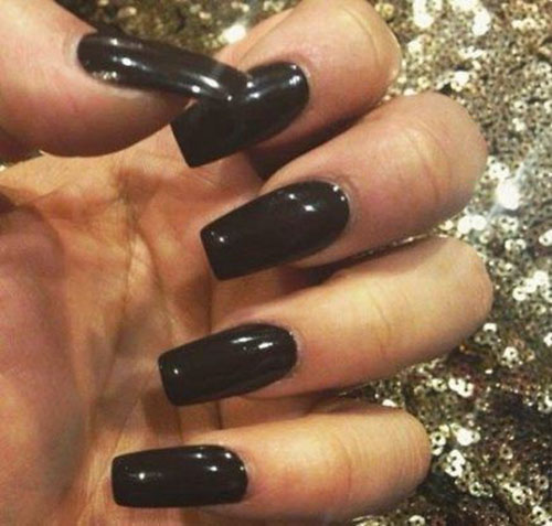 Long Tapered Square Nails