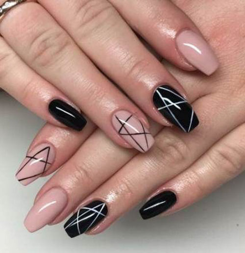 Square Nails Acrylic