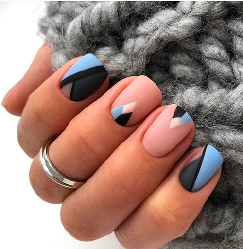 Short Nails With Designs