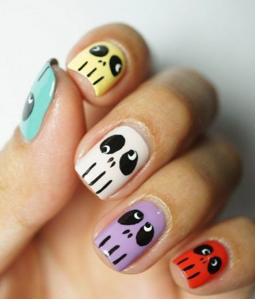 Simple Accent Nail Designs