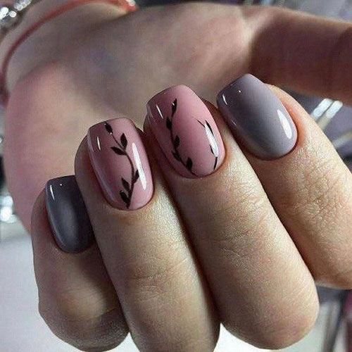 Simple Gothic Nail Designs