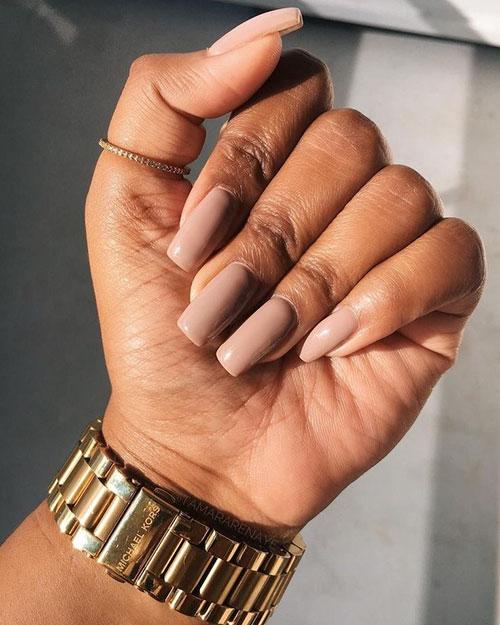 Fall Nail Colors Dark Skin
