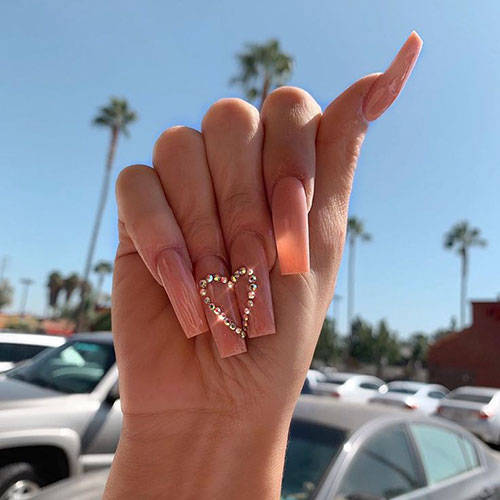 Tapered Square Acrylic Nails