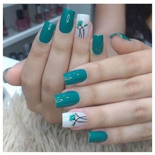 Simple But Cute Nail Designs