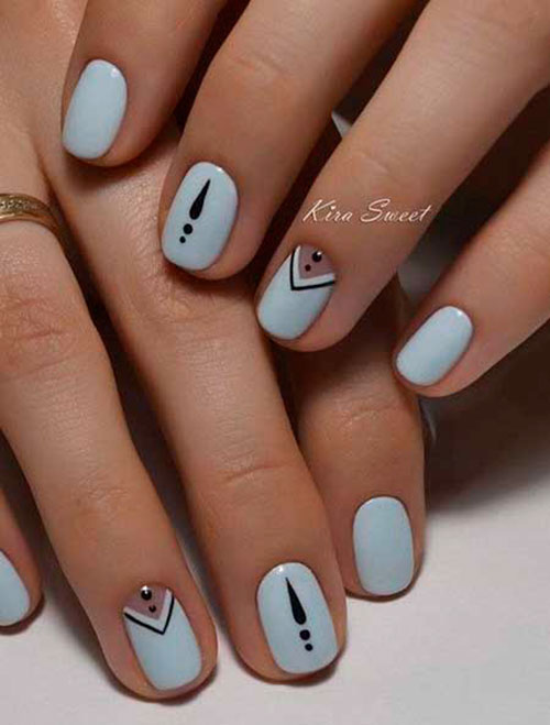 Elegant Simple Nail Designs