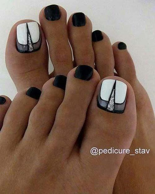 Matching Nail And Toe Designs