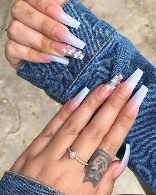 Ombre Nails With Acrylic
