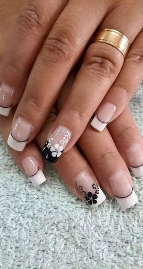 French Manicure Images