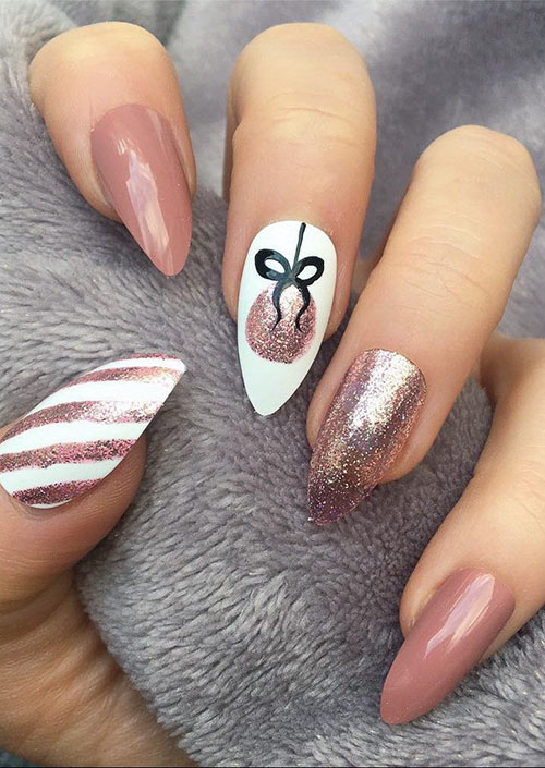 Cute Nails For Homecoming