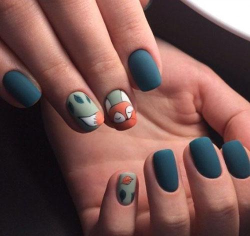 Cute November Nails