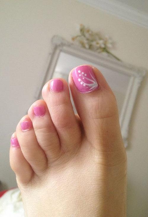 Basic Toe Nail Designs