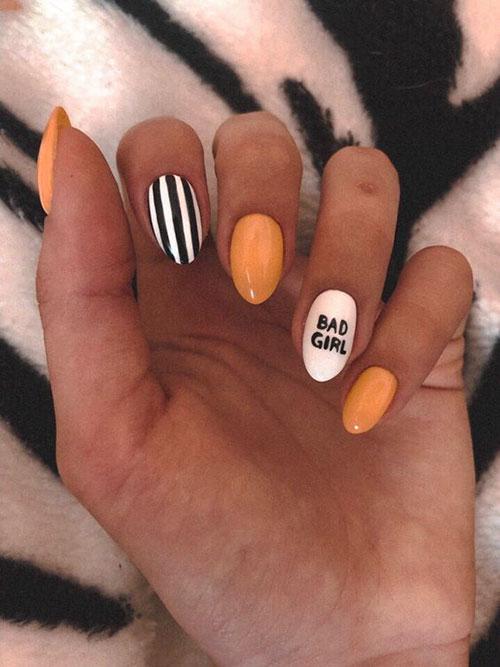 Cute October Nails