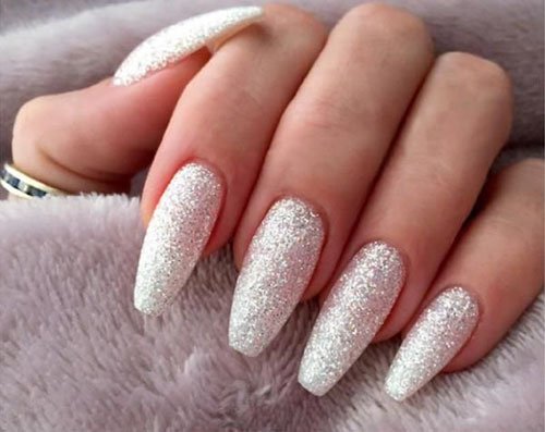 Nails With Silver