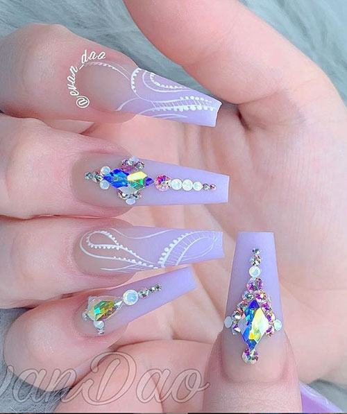 Long Ballerina Nails