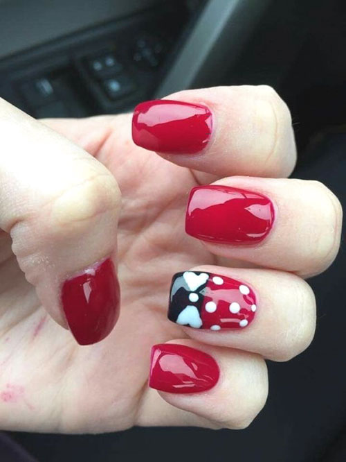 Minnie And Mickey Nails