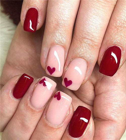 Valentine'S Day Designs For Nails