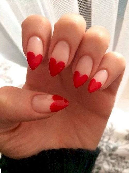 Ariana Grande Almond Nails