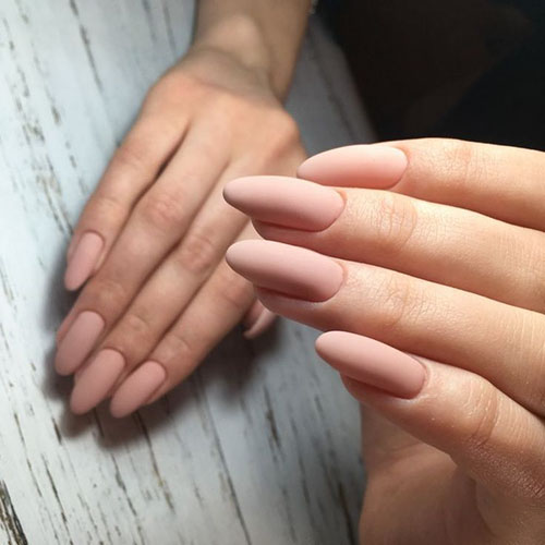 Almond Point Nails