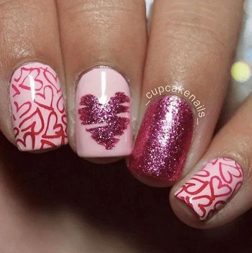 Hot Valentine'S Day Nail Designs