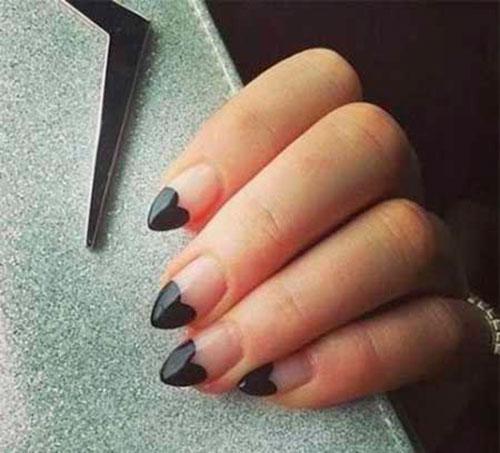 Cool Black Nails