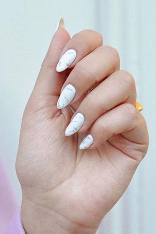Almond Cut Nails