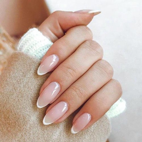 Almond False Nails