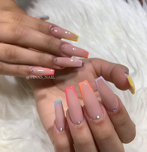 Super Long Acrylic Nails