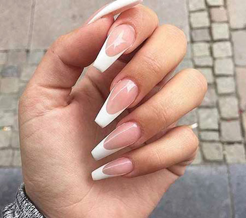 French Tip Coffin