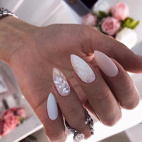 Skinny Almond Nails