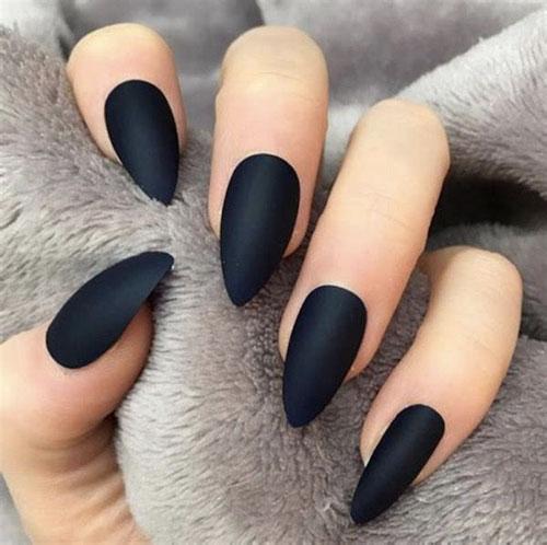 Black People Nails
