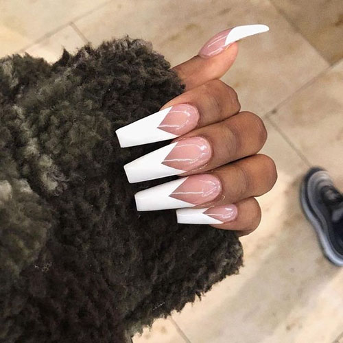 Coffin Nail French Tip