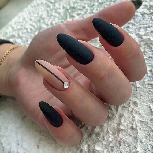 Black Cherry Nails